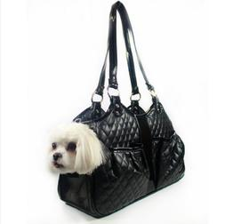 $250 - Quilted Luxe Petote Metro Bag - Dog Pet Carrier