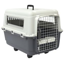 Dog Crates And Kennels For Medium Dog With Door Travel Pet C