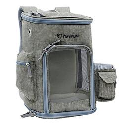 Mr. Peanut's Backpack Pet Carrier, Soft Sided Tote for Small
