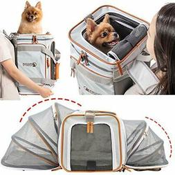 Airline Approved Pet Carrier Backpack Under seat, Soft Uniqu