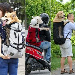 Breathable Head Out Dog Carrier Backpack K9 Sport Sack for B