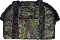 CAMOFLAUGE PURSE STYLE DOG CARRIER