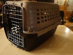 PETMATE - CARRIERS Navigator Kennel Pet Carrier Grey/Black S