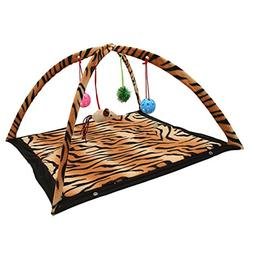 Corner Biz Pet - Cat Toys Activity Tent Exercise & Stay Acti
