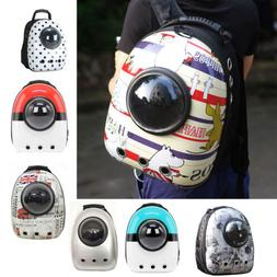 Cute Pet Dog Cat Astronaut Backpack Space Capsule Breathable