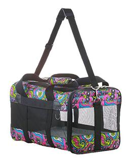 Sherpa Original Deluxe Floral Pet Carrier, Small, Multi Colo