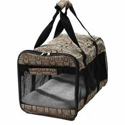 Pet Life Dog Carrier Airline Approved Pet Carrier 18x11x11 F