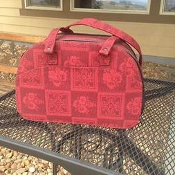 Dog/Cat/Pet/Carrier/Purse/Tote/Bag - The Capri Red Flower Ca