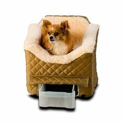 Small Dog Cat Pet Safety Car Booster Seat Dog Carrier Yorkie