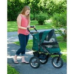 Pet Gear Jogger No-Zip Zipperless Dog Cat Jogging Stroller w