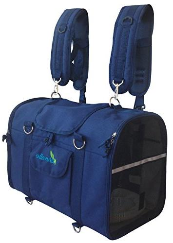 Natuvalle 6-in-1 Sturdy Pet Carrier Backpack, Front Pack, Sh
