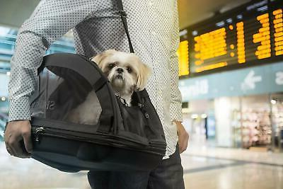 Sherpa Travel Comfort Ride Airline Approved Pet Carrier, Lar