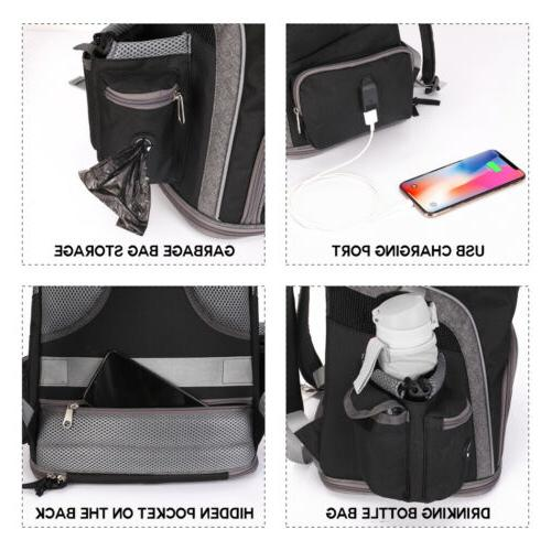 Deluxe Dog Carrier Dogs Cats Design Breathable Outdoor
