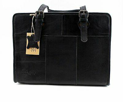 designer classic black dog carrier purse