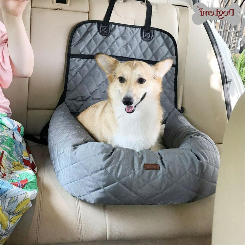 Dog Car Seat for Pet for Small Dogs Carrier