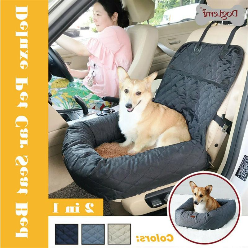 dog car seat booster for vehicles pet