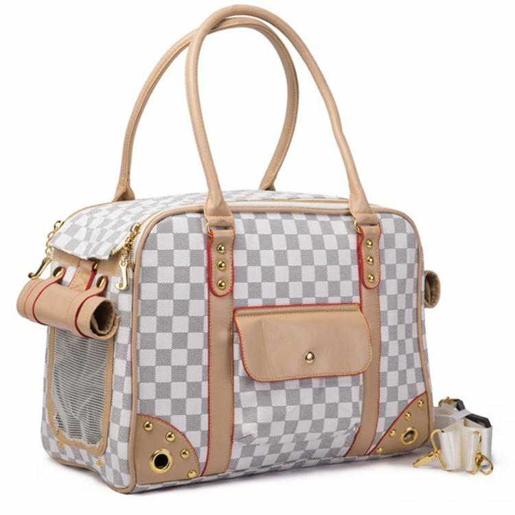 folding pet dog carrier purse small large
