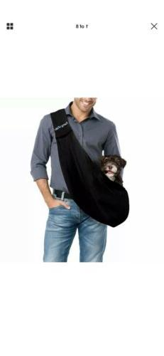 FurryFido Reversible Pet Sling Carrier for Cats Dogs up to 1