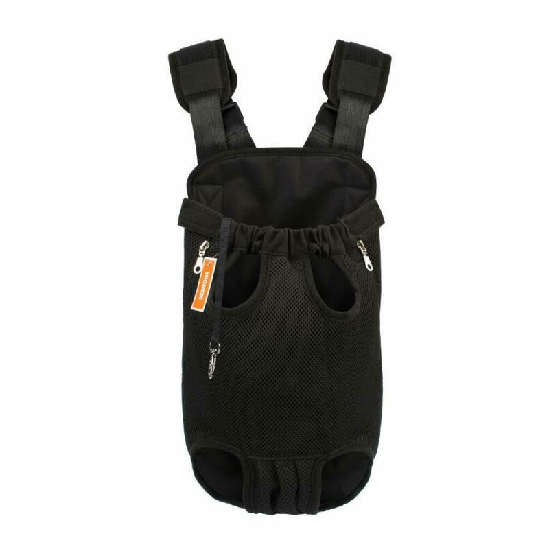 legs out front facing dog carrier backpack