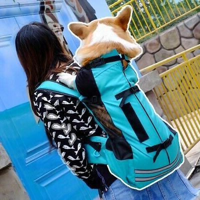 pet backpack outdoor carrier medium dog breathable