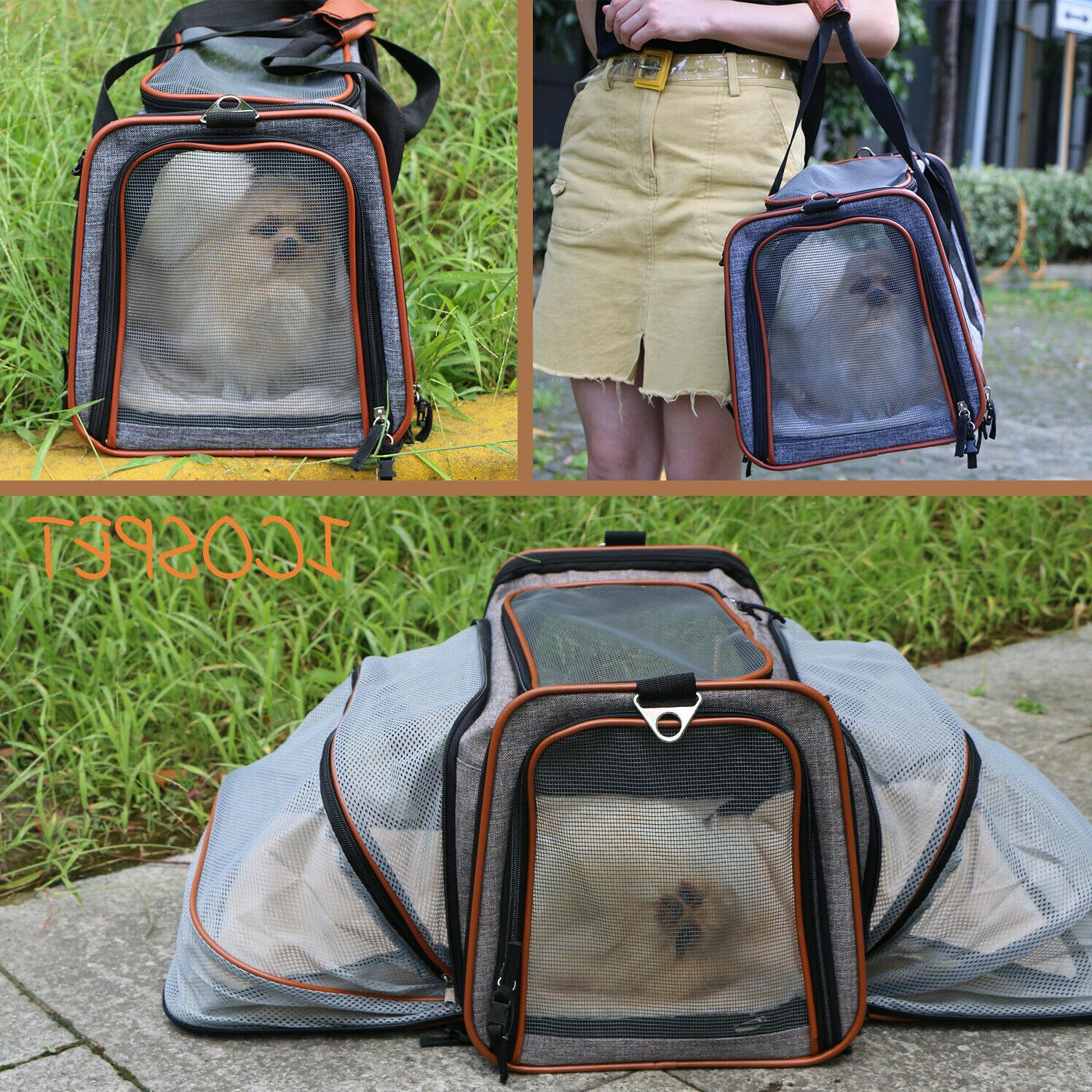 Expandable Carrier Dogs Under Seat Compatibility