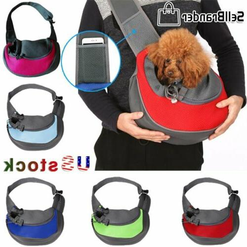 pet cat carrier puppy dog pouch sling