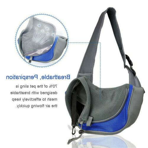 Outdoor Pet Puppy Cat Carrier Sling Adjustable Pouch