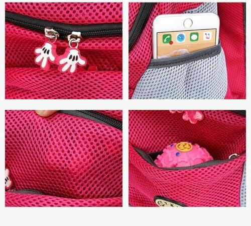 Pet Mesh Portable Backpack Front US