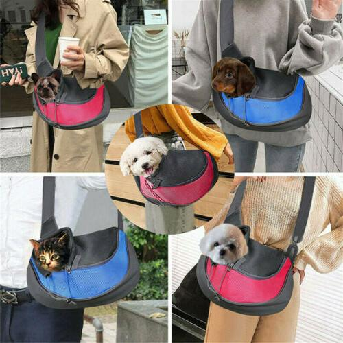 Outdoor Travel Pet Dog Puppy Cat Carrier Bag Sling Adjustabl