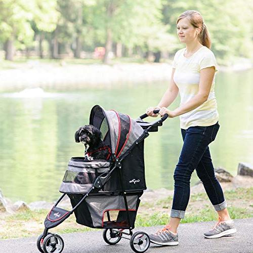 Gen7 Stroller for Dogs Cats Lightweight, Compact and Durable Wheels