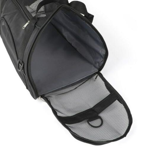 Small Pet Carrier Soft Sided Travel Case Airline Approved US