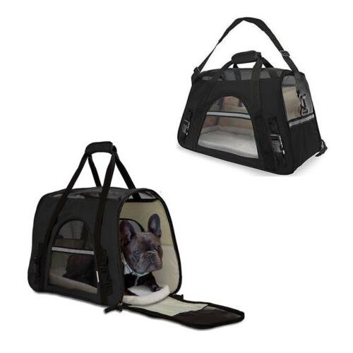 Small Cat Pet Comfort Travel Case Airline
