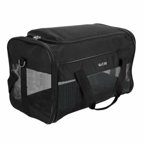 USA Small/Large Pet Carrier Soft Sided Bag Travel @