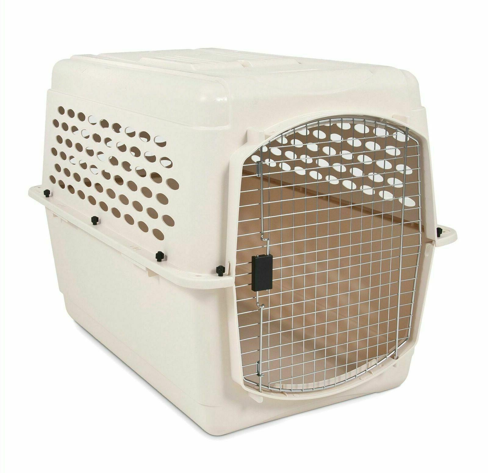 Petmate Vari Kennel Dog Pet Carrier With AHeavy Duty Plastic