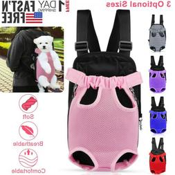 Mesh Pet Puppy Dog Cat Carrier Backpack Head Legs Out Front