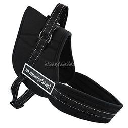 BOSUNNylon Multipurpose Work Dogs Pulling Training Harness S