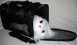 ON BOARD TRAVEL PET CARRIER DELUXE Airline Cat Carrier Dog C