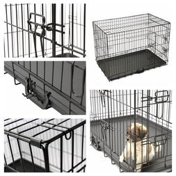 "42"" Pet Animal Kennel Pen Cat Dog Crate Travel Carrier Foldi"