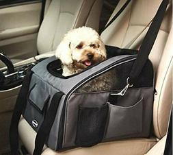 WOpet Pet Car Seat Carrier Airline Approved For Dog Cat Pupp
