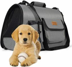 Pet Carrier Cat Carrier Dog Carrier for Small Medium Dogs, C