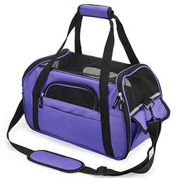Pettom Pet Carrier for Dogs & Cats Comfort Airline Approved