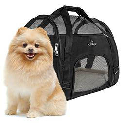 PetTech Pet Carrier for Small Dogs, Cats, Puppies, Kittens,