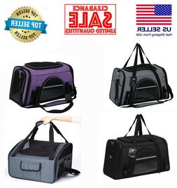 Pet Carrier for Dogs Puppy & Cats, Airline approved soft pet