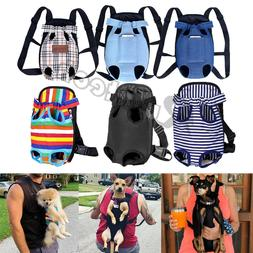 Pet Cat Dog Carrier Backpack Adjustable Pet Front Carrier Le