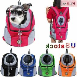 Pet Dog Carrier Puppy Mesh Portable Backpack Travel Front Tr