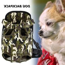 Pet Dogs Carrier Mesh Backpack Travel Products Breathable Sh