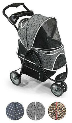 Pet Stroller - Promenade - 3 Colors Pets Up to 50lbs