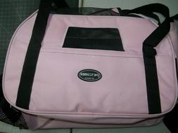 Petcomer Pet Traveler Carrier for small Dog or Cat Pink