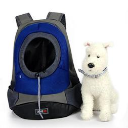 Tom Clovers Comfortable Polyester Dog Backpack Pet Carrier C