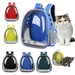 Portable Pet Cat Dog Carrier Backpack Space Capsule Bubble T